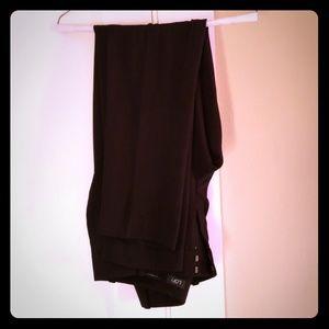 Summer black dress pants